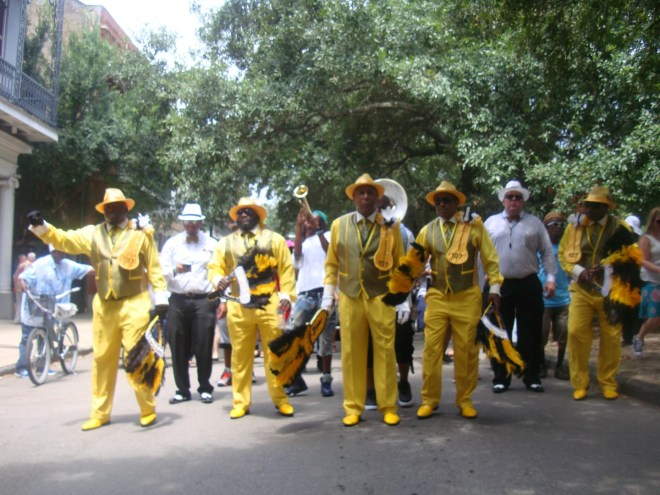Hard Working Dancing Men At Satchmo Summerfest