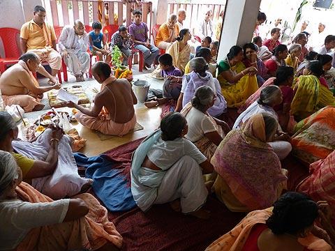 Page 1. Srila Govinda Maharaj's Murti Installation ...
