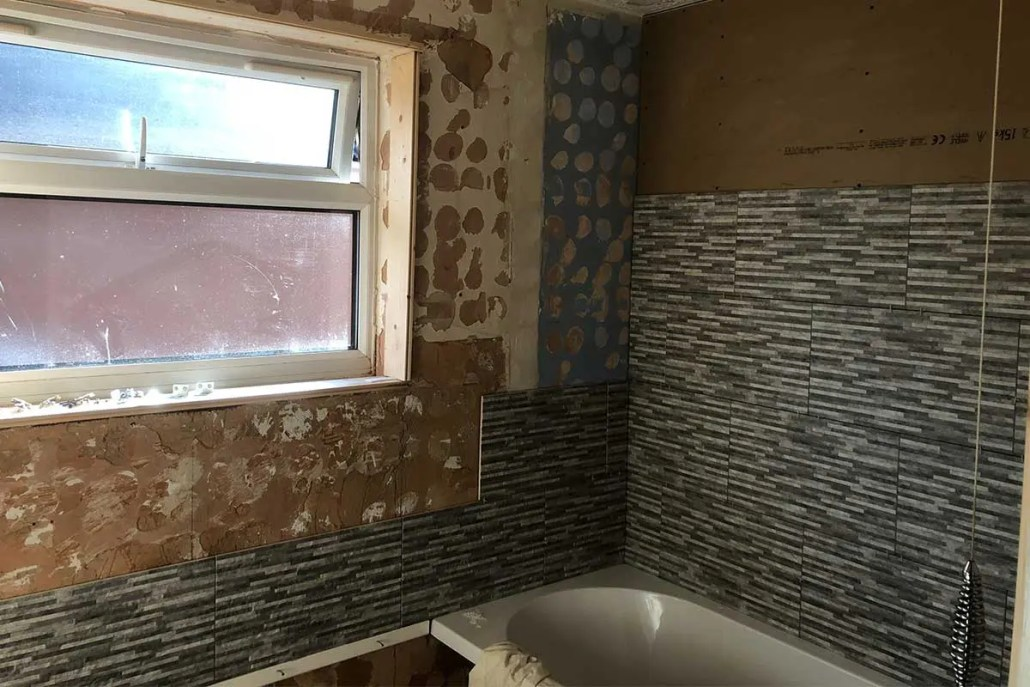 Before - Bathroom renovation