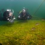 Vobster Quay underwater