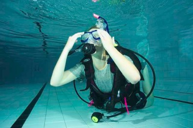 PADI Open water pool skills