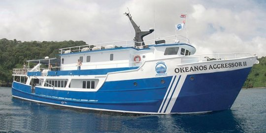 Okeanos Aggressor II - Cocos Island liveaboard budget option