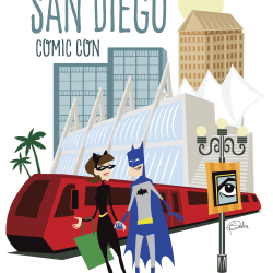 Going to San Diego Comic Con Poster