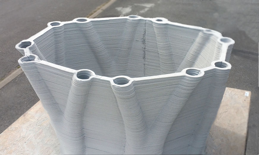 Xtreee 3d Printing Concrete To Push The Limits Of