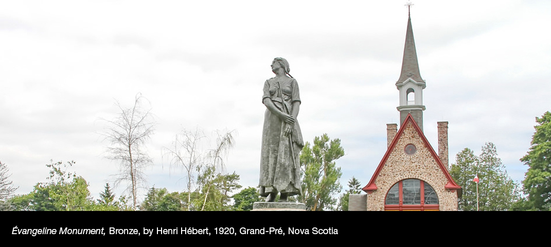 evangeline-Monument-Bronze-by-Henri-Hébert-1920-Grand-Pré-Nova-Scotia