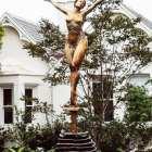 Sculptura - Rosa Mystica bronze sculpture