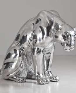 silver sculpture