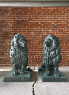 bronze-lions-sculptures-sculptura-gallery