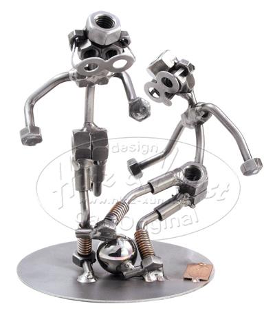 Acheter Pas Cher Figurine HINZampKUNST Sculpture Metallique