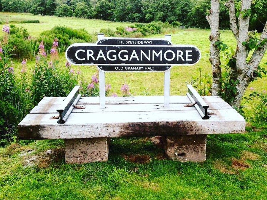 Speyside Way bench