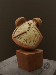 Instrument de torture, 2010 (argile)