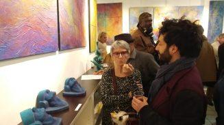 Vernissage-Dullin-Noury-Espace Mompezat-Paris-VI