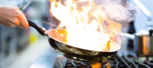 Corso Professionale Privato di Cucina Flambè