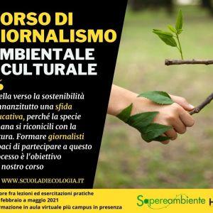Corso di giornalismo ambientale e culturale Sapereambiente