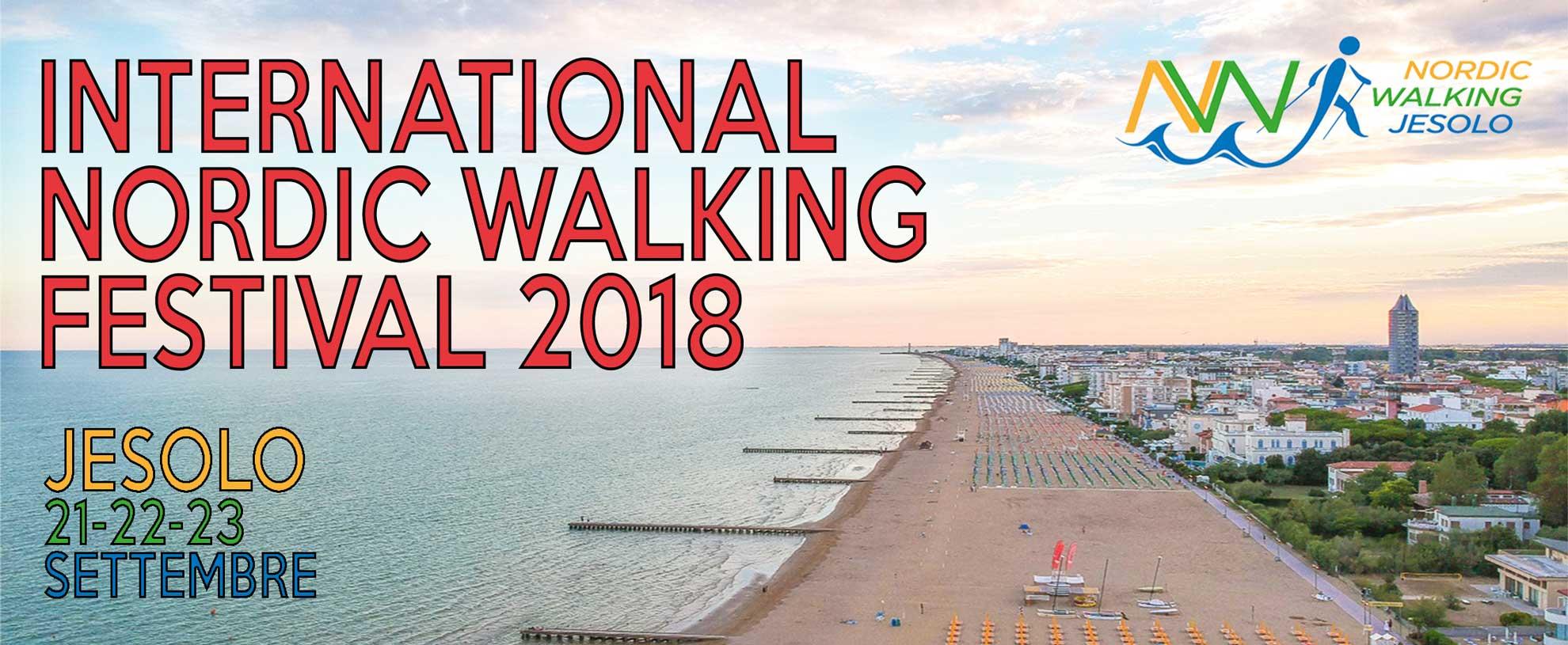Dal 21 al 23 settembre Jesolo capitale del Nordic Walking con l'International NW Festival