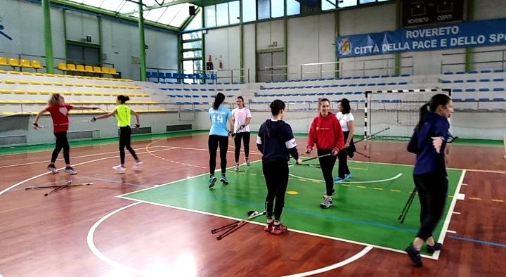 """Progetto """"Scuola e Sport"""" al liceo Scientifivo """"Antonio Rosmini"""" Rovereto (TN)"""