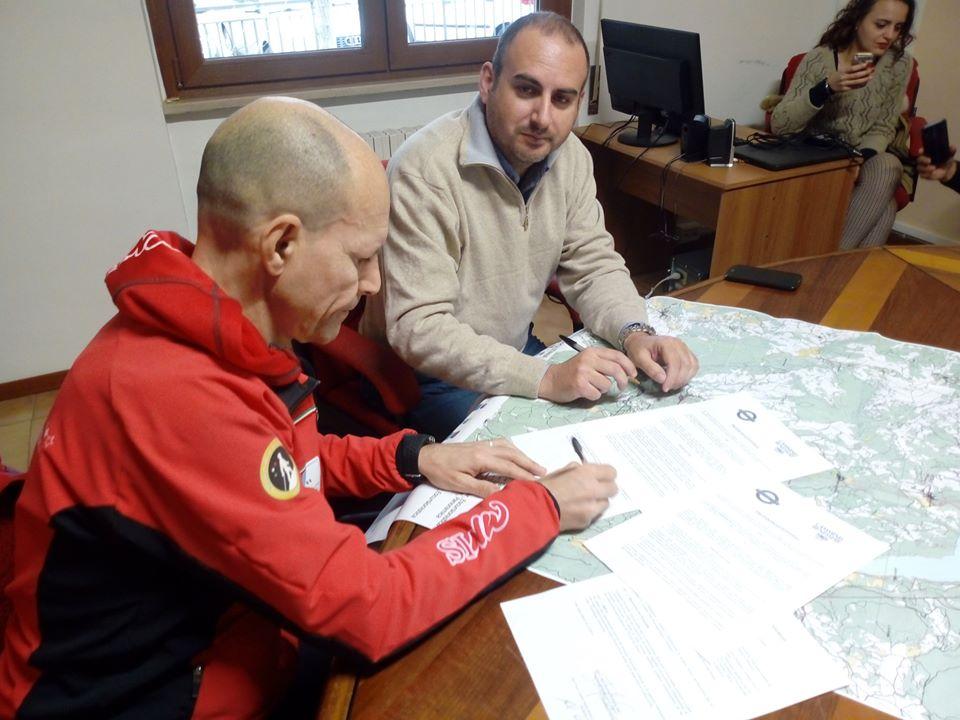 """SINW sepre più unita al territorio delle aree interne: Cammini e Benessere – NWS sigla un protocollo d'intesa con i 15 comuni dell'itinerario """"Rocciapolitana"""""""