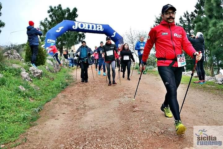 """La Sicilia Nordic Walking Asd co-protagonista della """"6 Ore Menzel Winter Trail""""a Misilmeri (PA)"""
