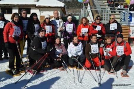 Il 25 gennaio con l'Asd. Fiemme Nordic Walking, per la Litl, alla Marcialonga Stars