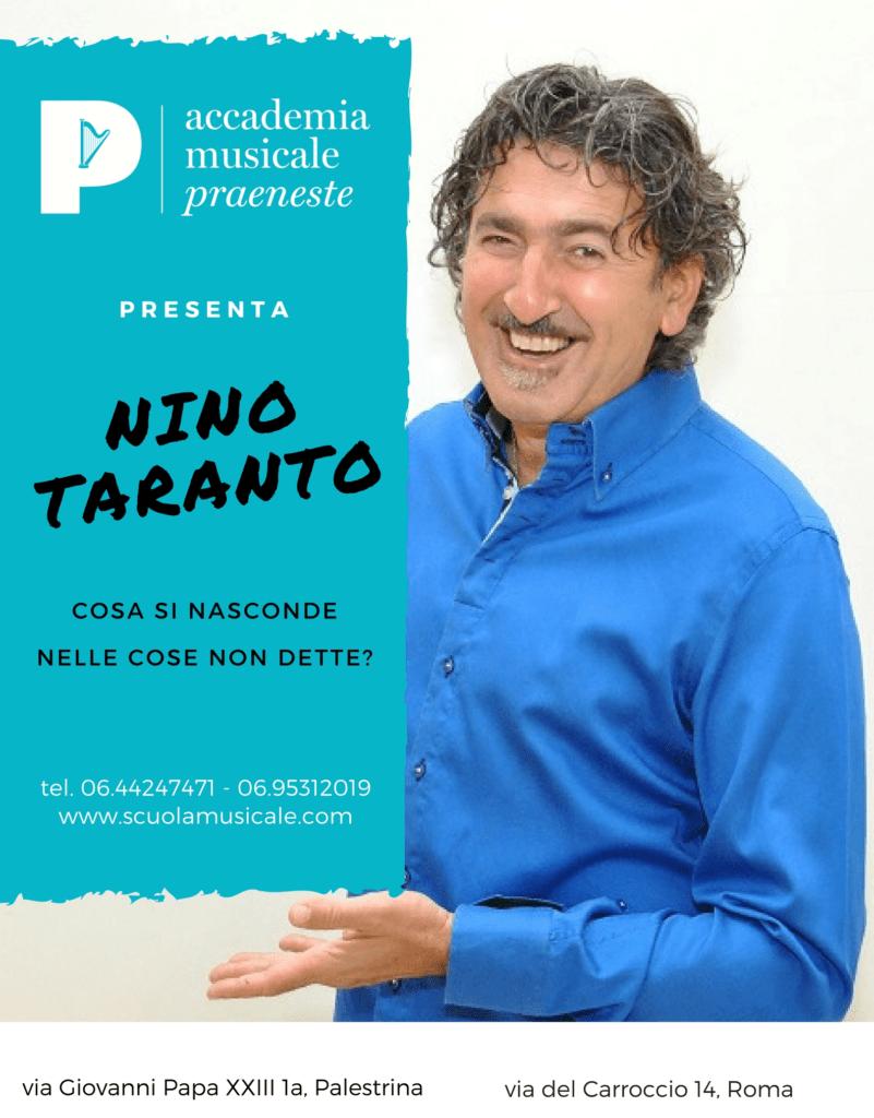 Corso di Intenzione Comunicativa con Nino Taranto