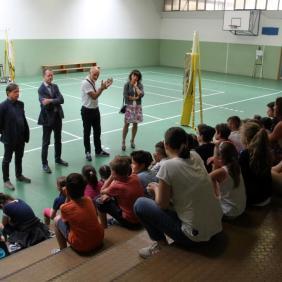Intervento Panathlon Scuola Cattolica Cogno 13 giugno 2018