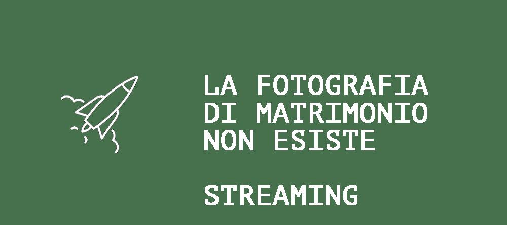 la fotografia di matrimonio non esiste trasp