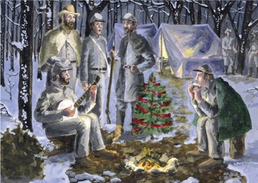 The Confederate Christmas Card Collection