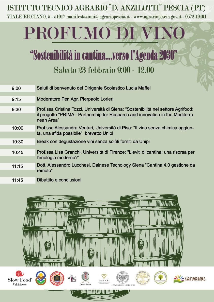 Programma Profumo di Vino 2019