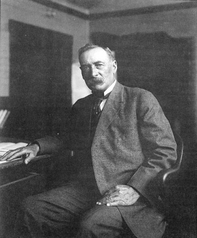 William Mulholland whose rise and fall career included the construction of the Los Angeles Aqueduct and St. Francis Dam.