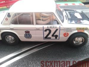 Seat 124 rally Scalextric
