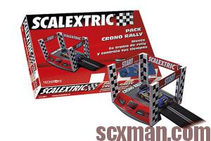 Pack crono rally de Scalextric