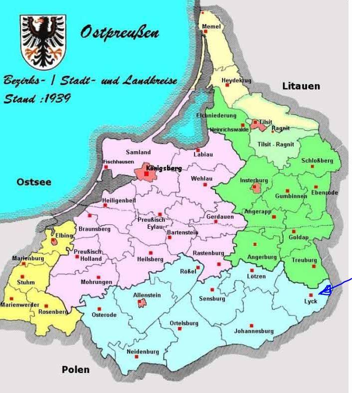 OstpreussenKreise1939