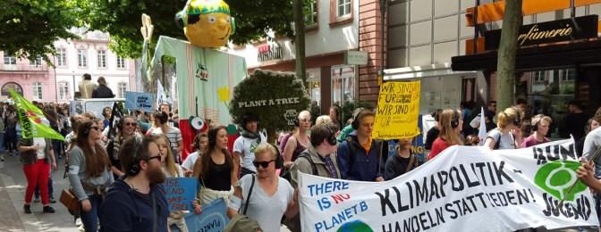 Mainz: Silent Climate Parade