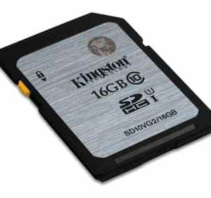 Kingston SDHC 16GB Geheugenkaart