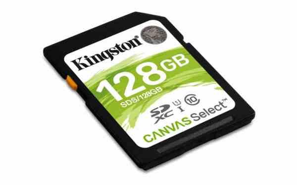 Kingston SDXC 128GB Canvas Select Geheugenkaart kopen?
