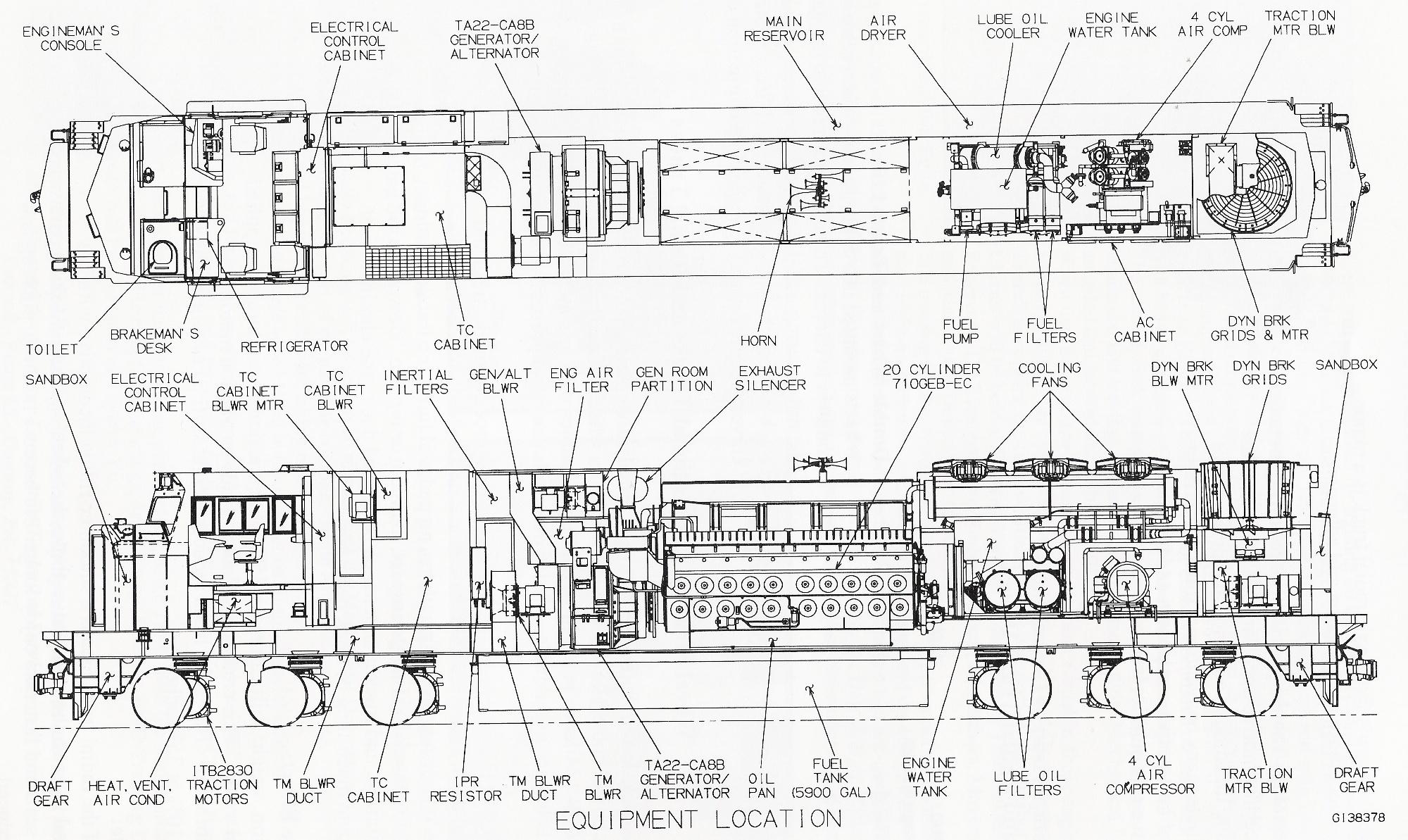 Emd Locomotive Blueprints