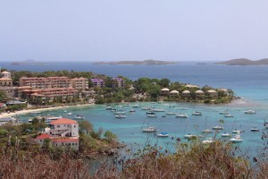 Photo of Cruz Bay on St. John's, U.S. Virgin Islands