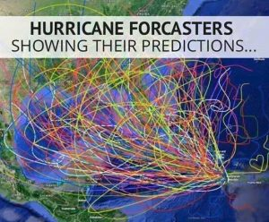Fake Hurricane Model Graphic