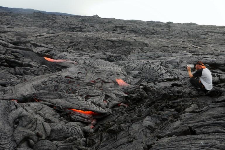 Kilauea Lava - Epic Lava Dude