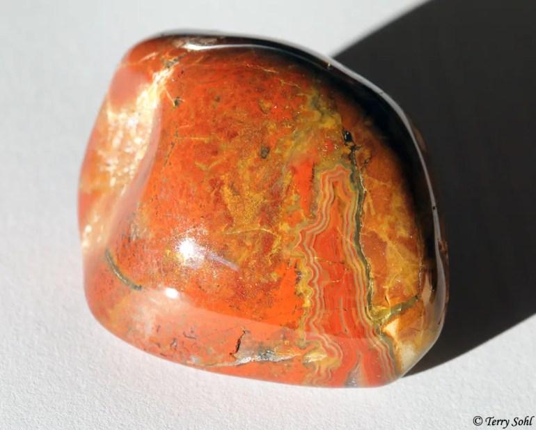 Polished Fairburn Agate