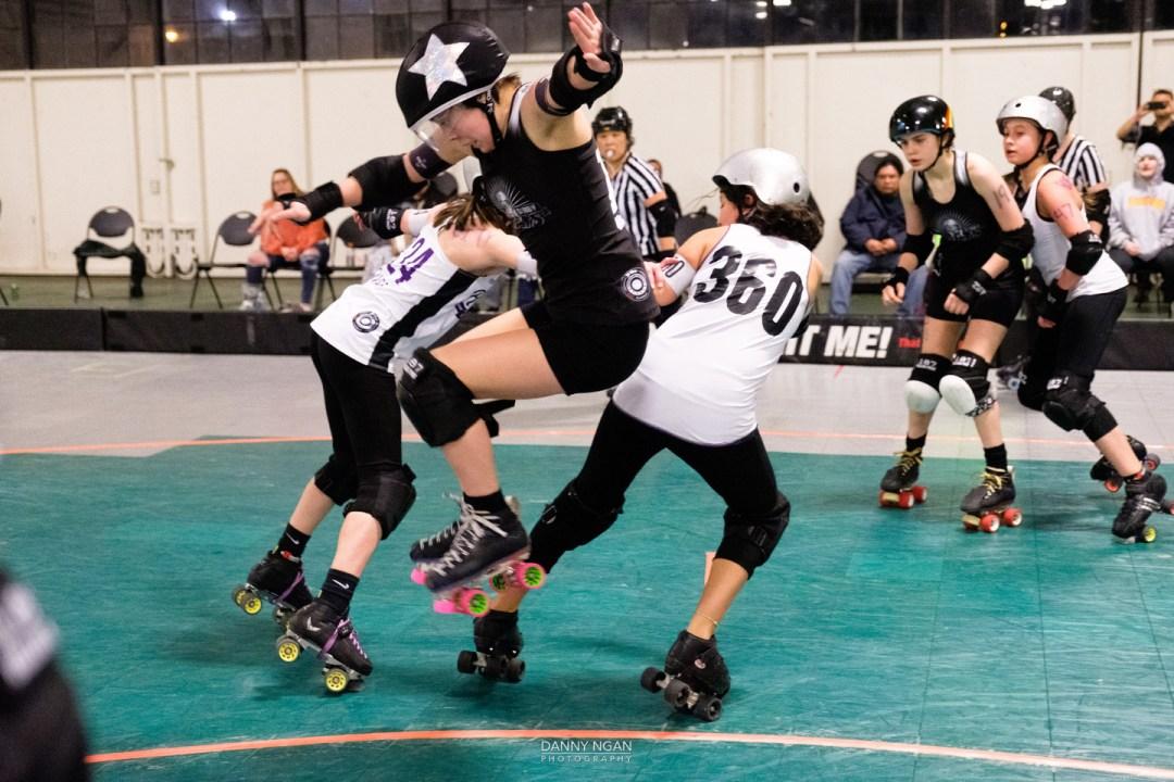 Galaxy Girls at Midwinter Mayhem tournament 2020 in Seattle, WA