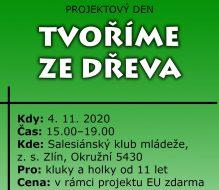 <a href='https://www.sdbzlin.cz/clanky/klub-deti-a-mladeze/projektovy-den-tvorime-ze-dreva/' title='Oprava – Projektový den: Tvoříme ze dřeva'>Oprava – Projektový den: Tvoříme ze dřeva</a>