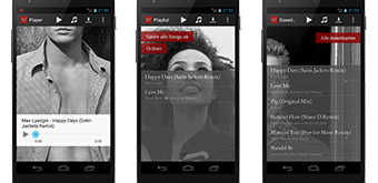 Abercrombie&Fitch Playlist App