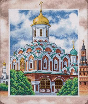 Набор для вышивания Panna «Казанский собор на Красной ...