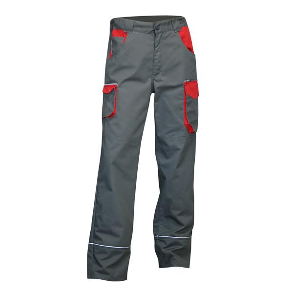 pantalon de travail bicolore gris et rouge lma lebeurre sdes marseille. Black Bedroom Furniture Sets. Home Design Ideas