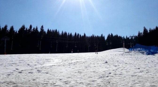 Malý lyžař v Krušných horách aneb jak se vyhnout krušným chvílím na svahu