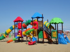 Pláž v Lignanu