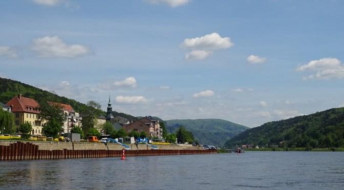 Vlakem a lodí do Saského Švýcarska s malými dětmi