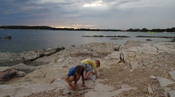 S dětmi na sever Chorvatska na písečnou i kamínkovou pláž