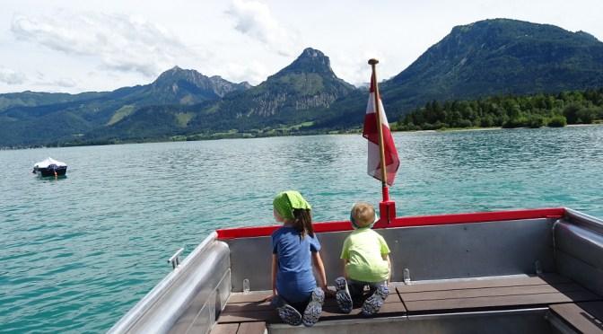 Solná komora s malými dětmi – výlet k Wolfgangsee
